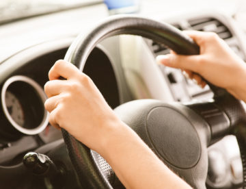 Zonder autogordel rijden